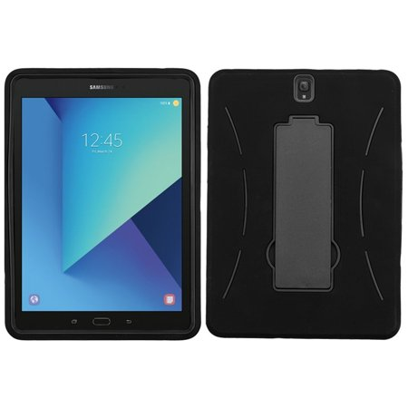 Samsung Galaxy Tab S3 Case, by Insten Symbiosis Dual Layer Hybrid Stand Hard Plastic/TPU Case Cover For Samsung Galaxy Tab S3 9.7
