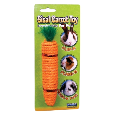 WARE MANUFACTURING INC. SISAL CARROT TOY