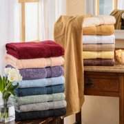 Impressions Derry Solid Egyptian Cotton 4-Piece Bath Towel Set