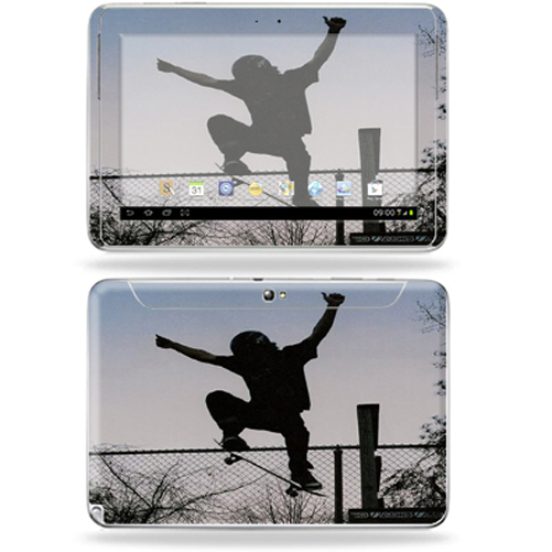 "Mightyskins Protective Skin Decal Cover for Samsung Galaxy Note 10.1"" inch Tablet wrap sticker skins Skater"