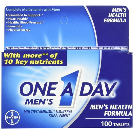 One A Day Mens 100Ct Size 100Ct One A Day Mens Multivitamin Multimineral Supplement Tablets 100 Count  Ship From Usa Brand One A Day