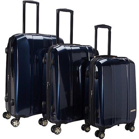 McBRINE Luggage McBrine 3-piece Polycarbonate Hardside Spinner Upright Luggage Set