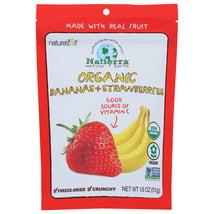 Dried Fruit & Raisins: Natierra Premium Bananas + Strawberries
