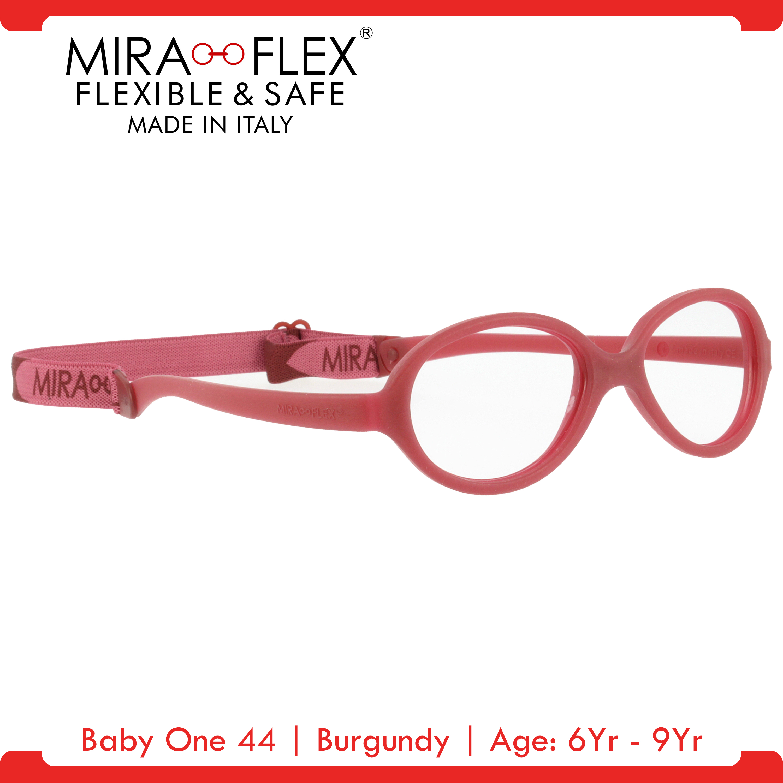 Miraflex: Baby One 44 Unbreakable Kids Eyeglass Frames | 44/16 - Pink | Age: 6Yr - 9Yr