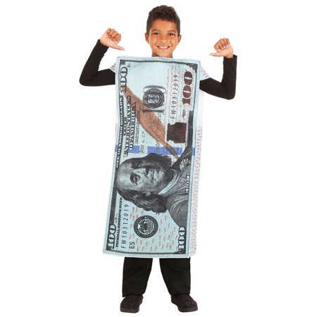 Money, Money! 100 Dollar Bill Child Costume