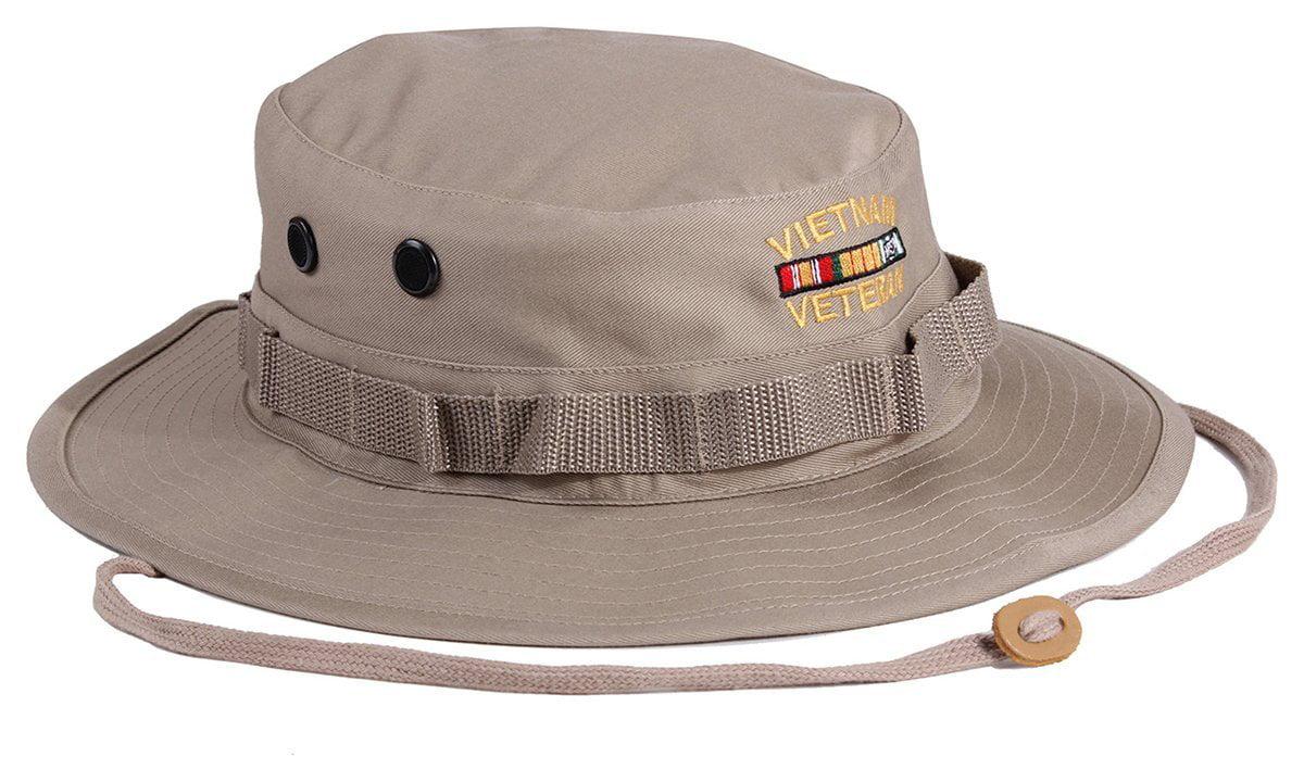 b8cd51f2c5c Vietnam Veteran Military Style Boonie Hat - Walmart.com