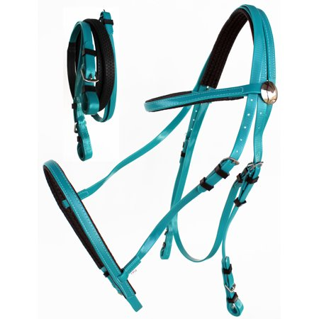 Endurance Bridle - Horse  English Endurance Dressage Biothane Bridle Halter Reins Set 40HS47
