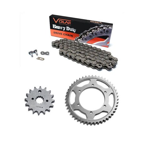 2003-2018 Suzuki DRZ125L Chain and Sprocket Kit - Heavy Duty