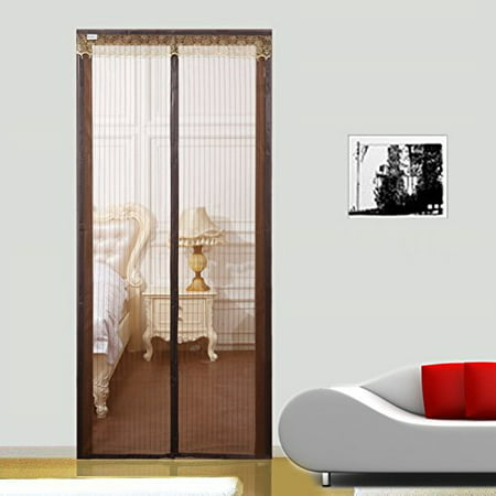 Shatex Magnetic Screen Door Mosquito Netting Screen -Fit for Max Opening,Walk Through Curtain (36
