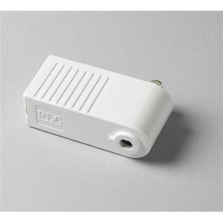 PLC TR154 BK Track Accessories Black Low Voltage Pendant Adaptor for Ceiling Light