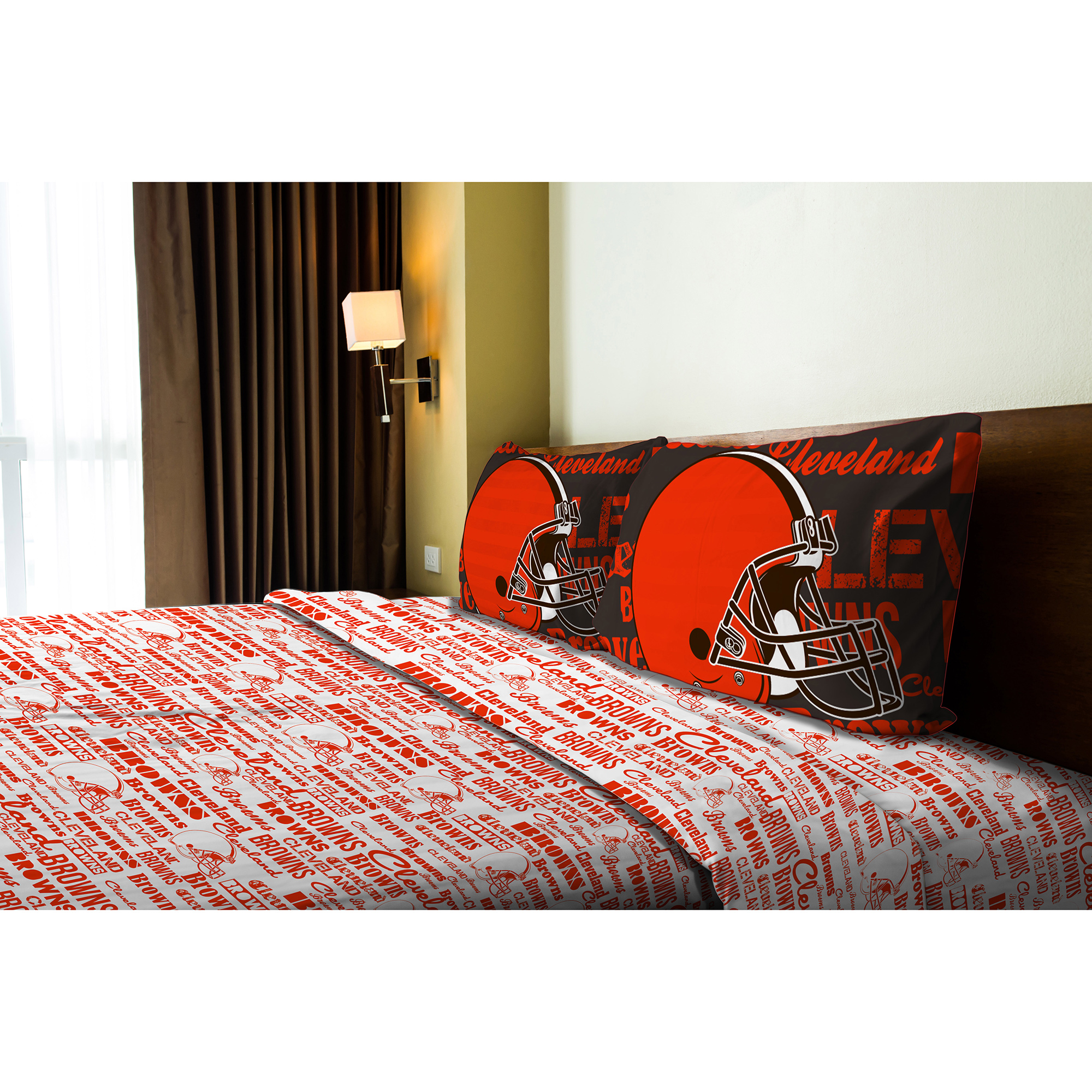 Cleveland Browns The Northwest Company Full Anthem Sheet Set - No Size