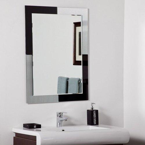 Decor Wonderland SSM524 Jasmine Modern Bathroom Mirror