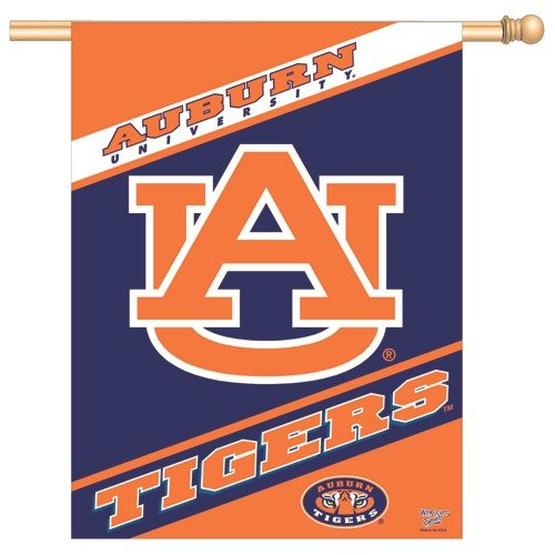 Wincraft, Inc. Collegiate Banner / Vertical Flag - Auburn University