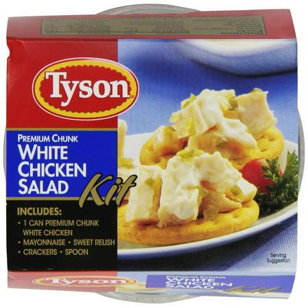12 Packs   Tyson Premium Chunk White Chicken Salad Kit  4 57 Ounce