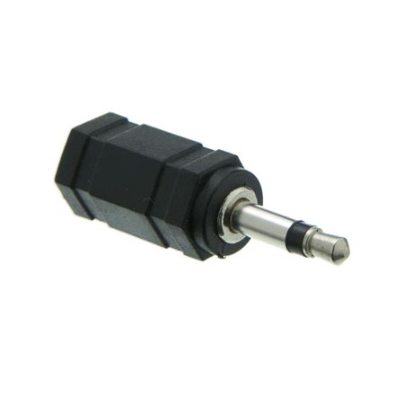 2.5 mm Stereo Male to 3.5 mm Stereo Female Adapter (3.5 Mm Male Port)