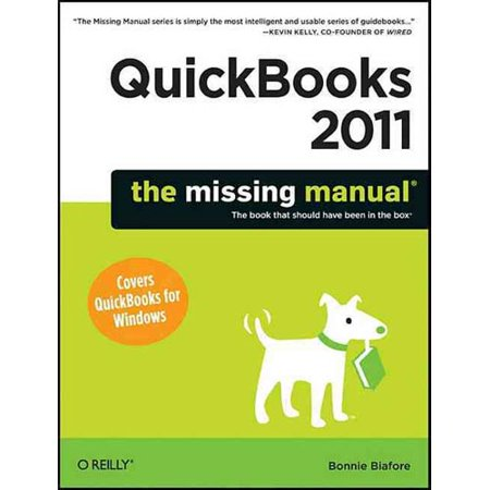 Quickbooks 2011  The Missing Manual