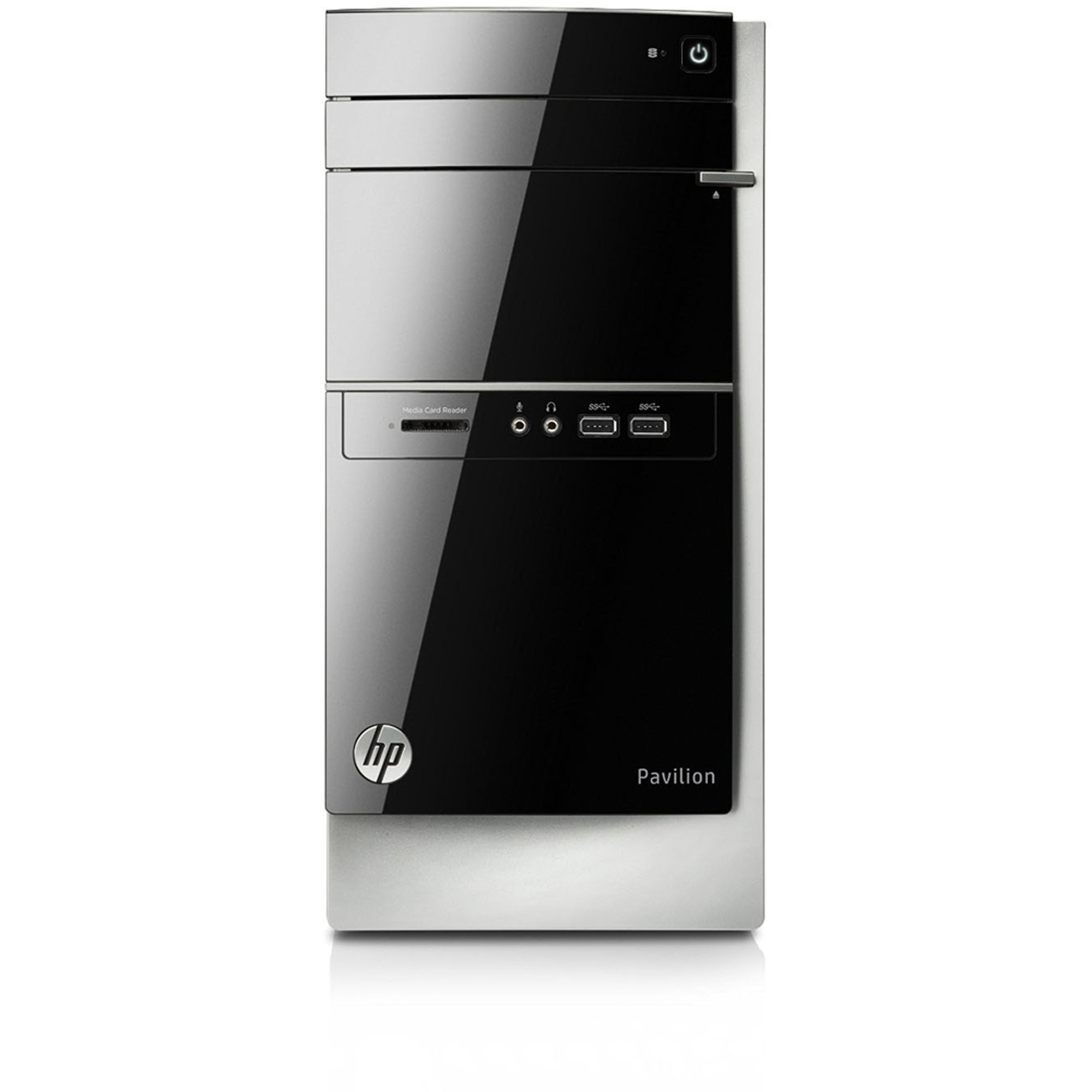 Refurbished HP Gray Pavilion Desktop PC with AMD A8 - 6410 Quad - Core Accelerated Processor, 8GB Memory, 2TB Hard Drive and Windows 8.1 (Monitor Not Included) (Eligible for Free Windows 10 Upgrade)