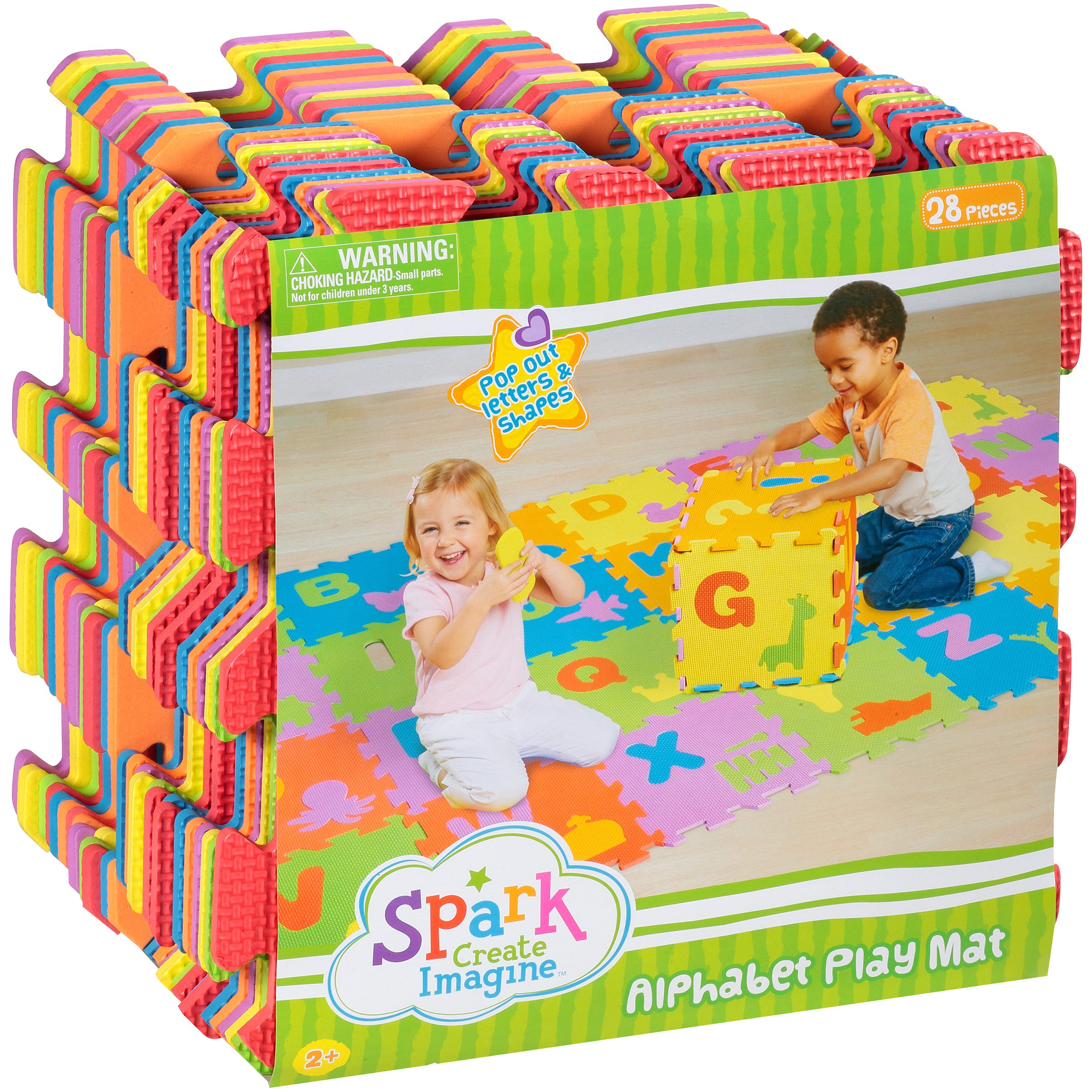 Spark Create Imagine Alphabet Play Mat, 2+ Years, 28 Pieces