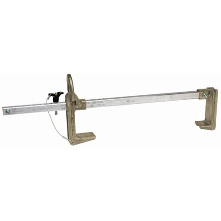 Fall Arrest Rope - Guardian Fall Protection 00125 Beamer BBC 18-2.5 Fall Arrest System- Fits 8-Inch to 18-Inch Beams Up to 2-Inch Thick