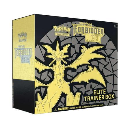 Pokemon Sun & Moon 6 Forbidden Light Elite Trainer Box Trading Cards - Pokemon Container