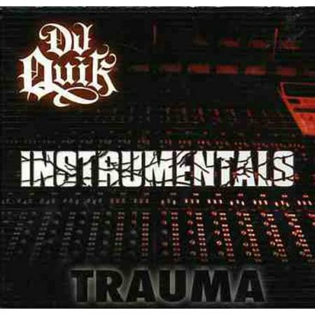 Trauma: Instrumentals (CD) - Halloween Rap Instrumental