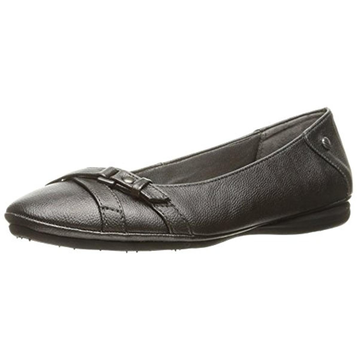 Lifestride Womens Addy Belted Slip On Ballet Flats by LifeStride