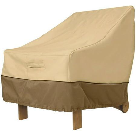 Classic Accessories Veranda Large Wicker Chair Patio Furniture Storage Cover