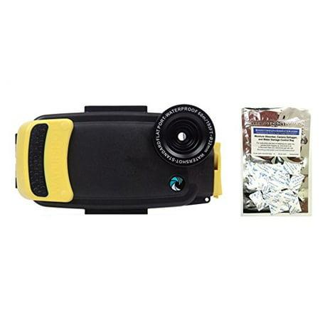 Kit Flat Lens (Watershot PRO Kit for iPhone 6/6s (Sunfish) (flat + wide angle lens port) w/ FREE Moisture Munchers)