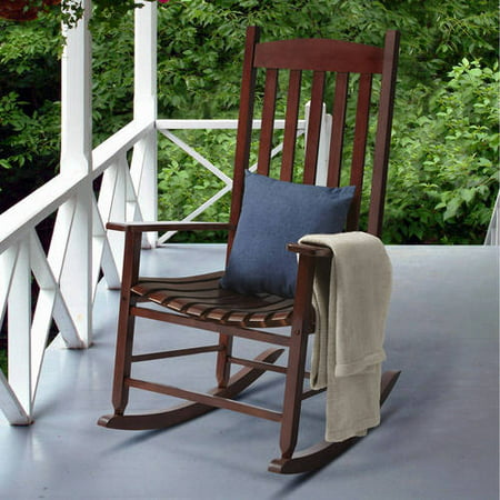 Mainstays Wood Porch Rocker