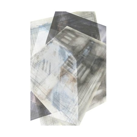 Faceted Art (Faceted Illusion III Print Wall Art By Jennifer Goldberger)