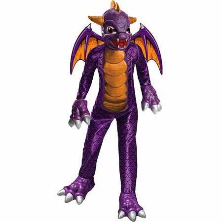Skylanders Halloween Costume (Deluxe Skylanders Spyro Child Halloween)