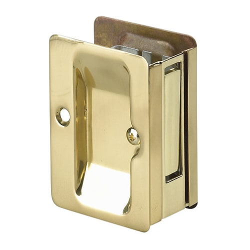 "Richelieu 1700-PSBC 3-1/4"" x 2-1/4"" Flush Rectangular Passage Pocket Door Pull"