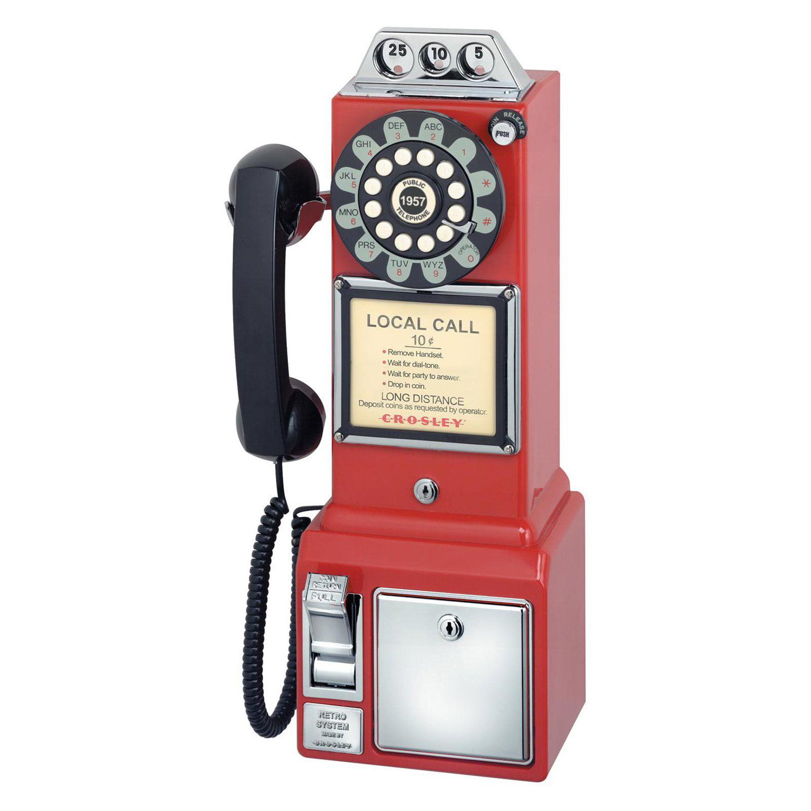 Crosley CR56 1950's Classic Pay Phone