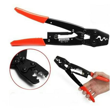HS-16 1.25-16mm² Cable Lug Crimper Crimping Tool Bare Terminal Wire Plier  - image 4 de 7