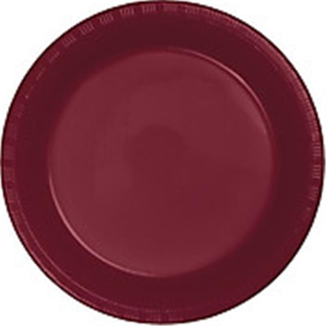CPC B10664B 10 in. Heavy Duty Disposable Plastic Party Plates, Black - Case of 200 - 10 Case of 20