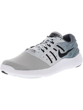 best service c64c6 a5662 Product Image Nike Men s Lunarstelos Pure Platinum   Black Cloud Grey White  Ankle-High Mesh Cross Trainer