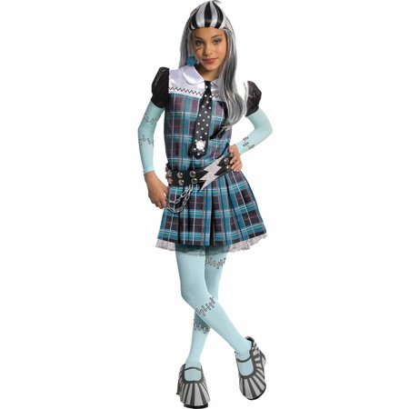 Monster High Frankie Stein Deluxe Child Halloween Costume - Halloween Monsters