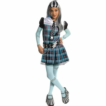 Monster High Frankie Stein Deluxe Child Halloween Costume](Monster High Child Halloween Costume)