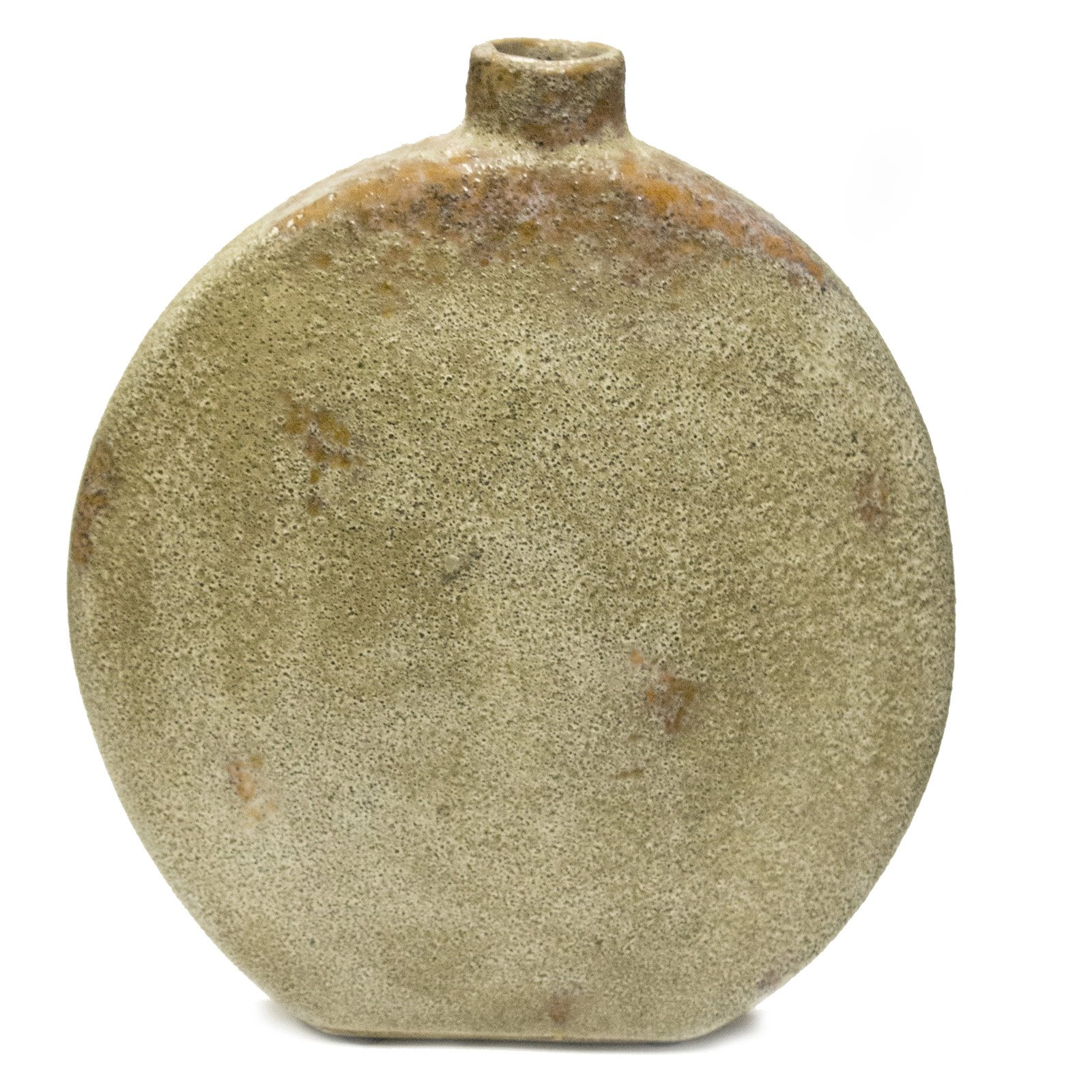Sagebrook Home Amelia Cement Round Table Vase