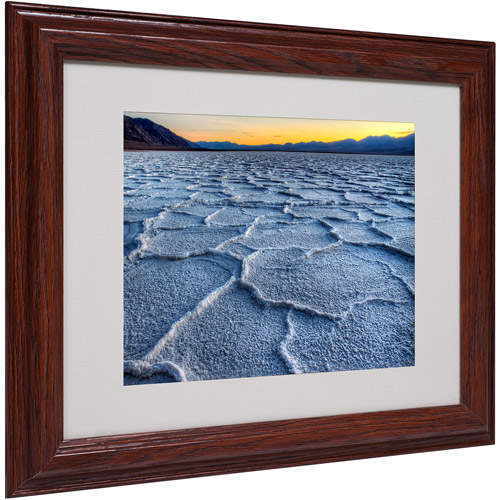 "Trademark Fine Art ""Badwater"" Matted Framed Art by Pierre Leclerc"