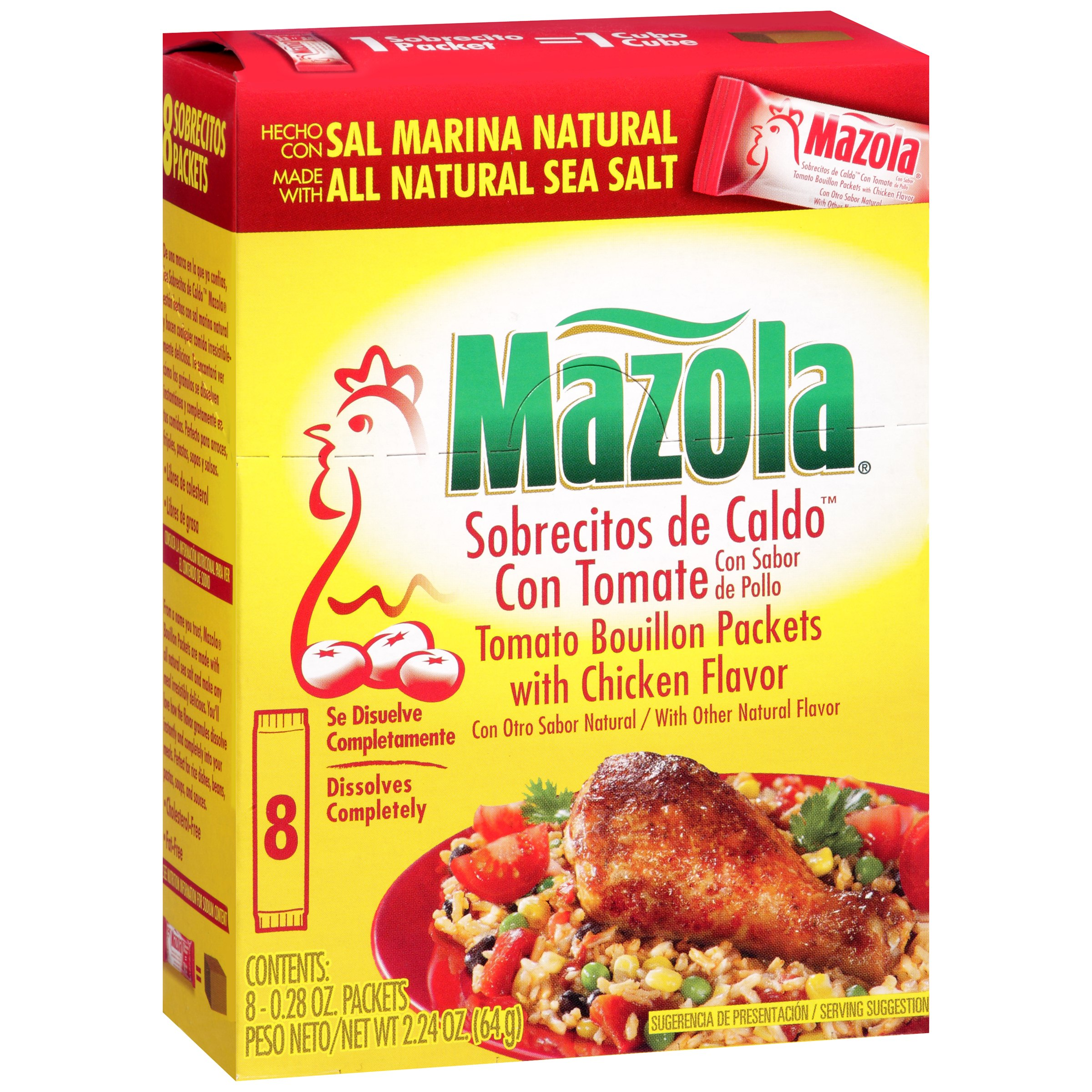 Mazola® Tomato Bouillon Packets with Chicken Flavor 8 ct.