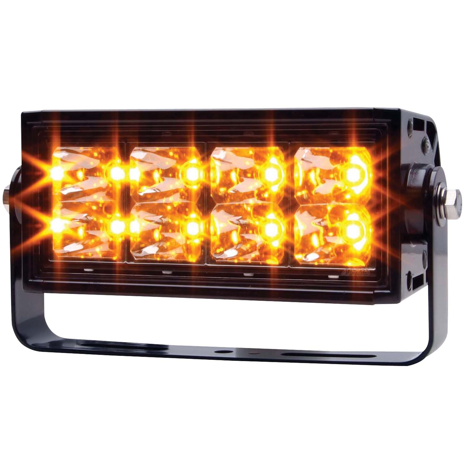 Anzo 881013 Rugged Vision Off Road LED Light Rectangle 8 LEDs High Output