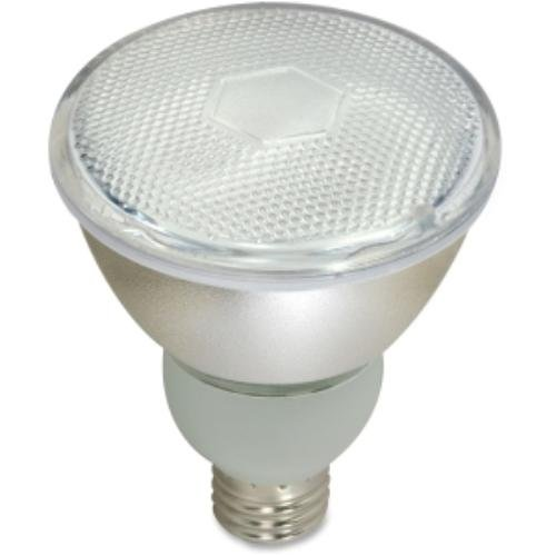 Floodlamp,Cfl,15w,Par30,L NeckSatco 15 watt; PAR30 Compact Fluorescent; 2700K; 82 CRI; Medium base; 120 volts By Satco by