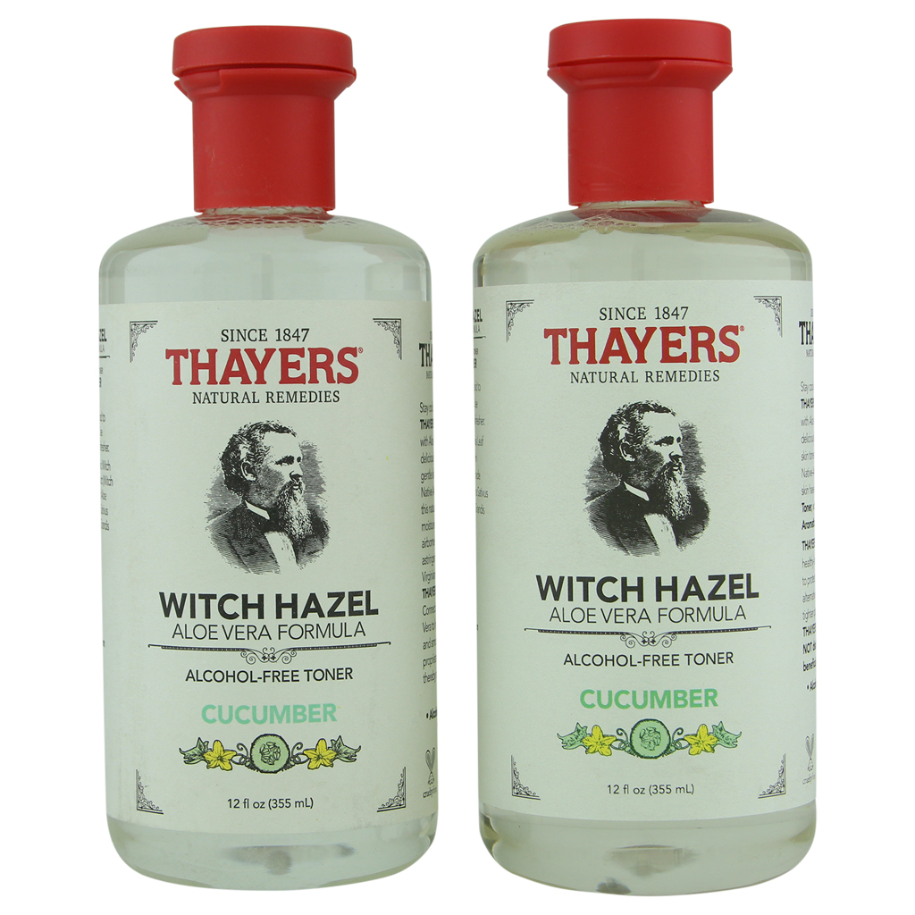 Thayer's Alcohol-Free Cucumber Witch Hazel Toner 2 ct 12 oz
