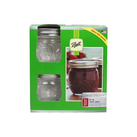 Jarden Home Brands 1440081210 8Oz 4Pack Regular Jam Jar