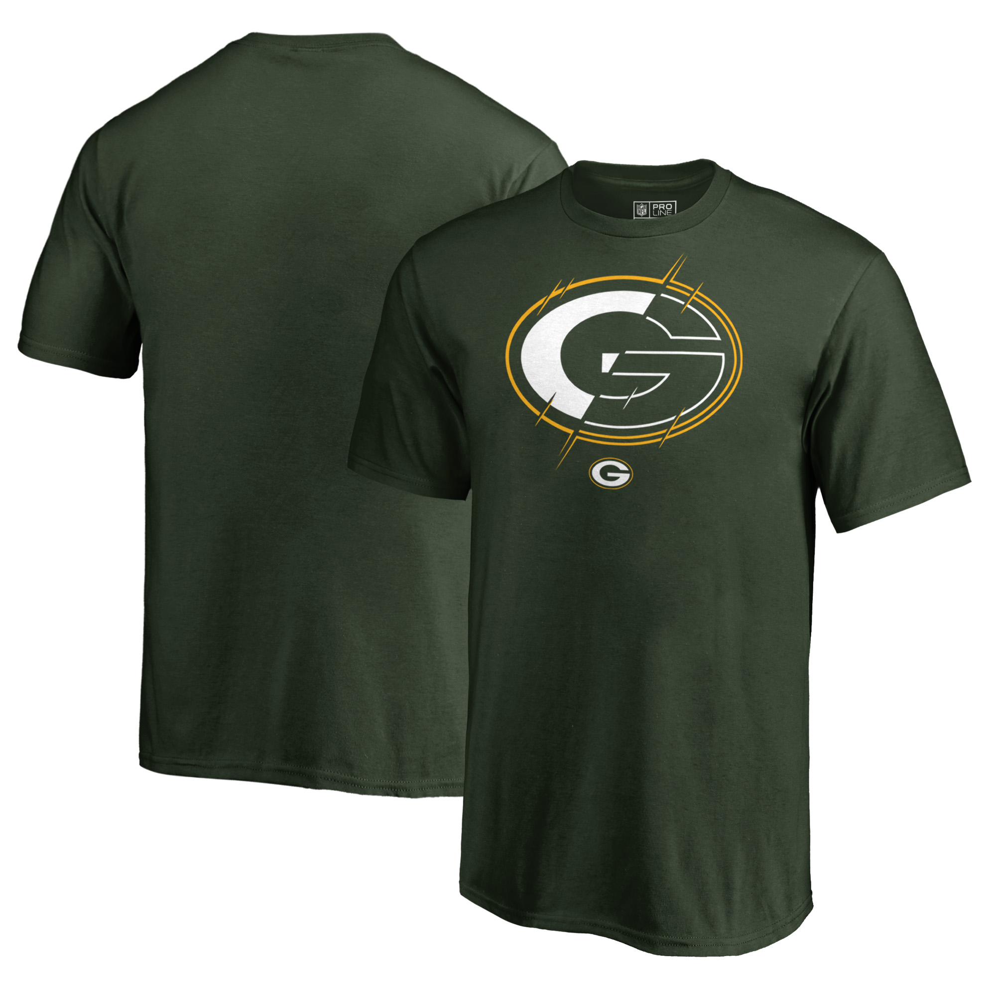 Green Bay Packers NFL Pro Line by Fanatics Branded Youth X-Ray T-Shirt - Green