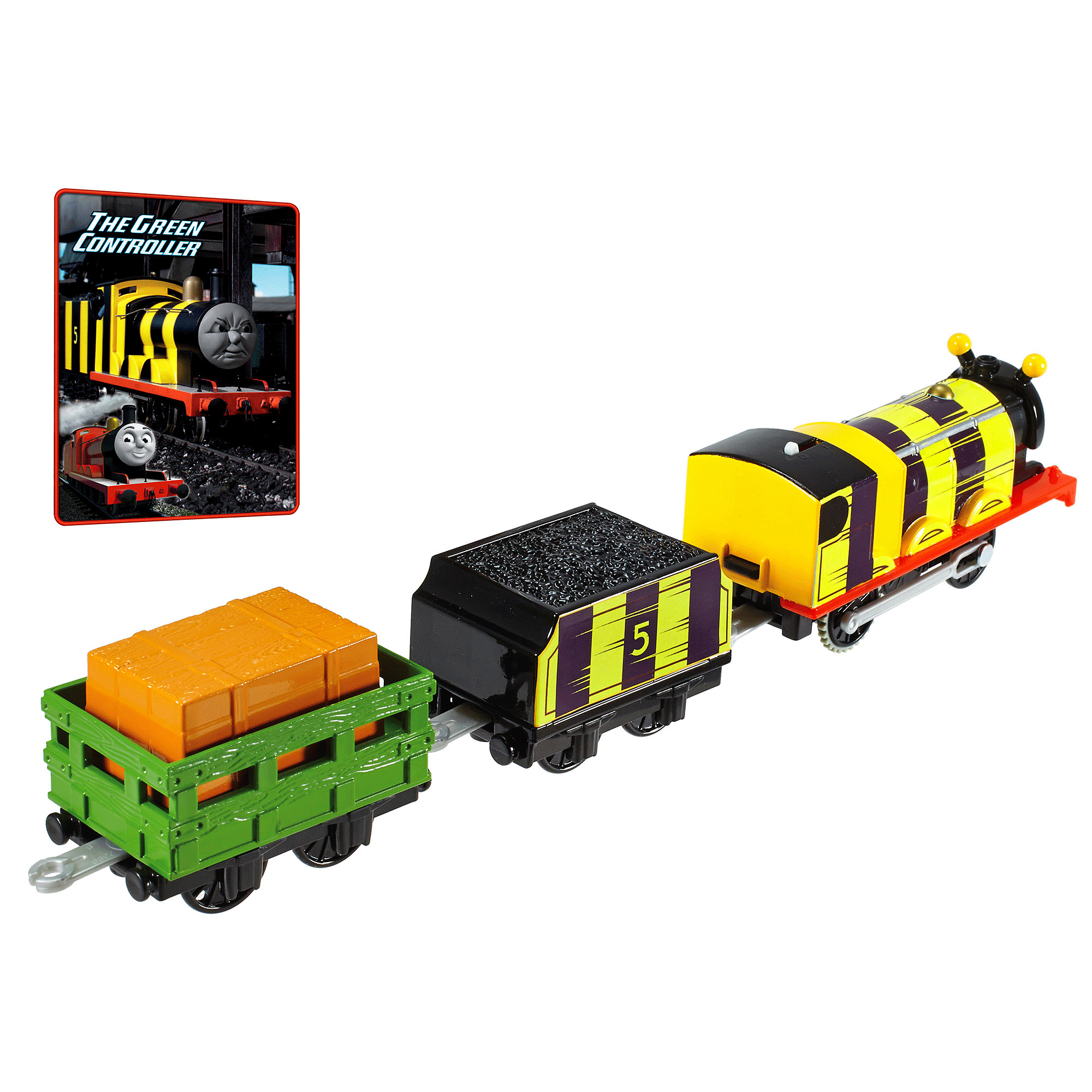 Fisher-Price Thomas & Friends Trackmaster Busy Bee James - Walmart.com