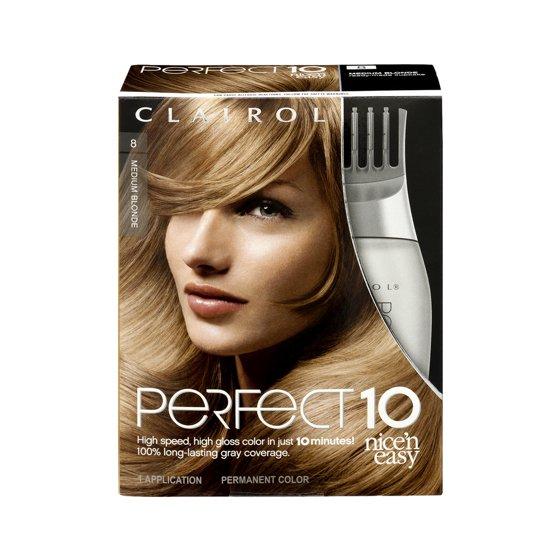 Clairol Perfect 10 By Nice N Easy Hair Color 1 Kit Walmart