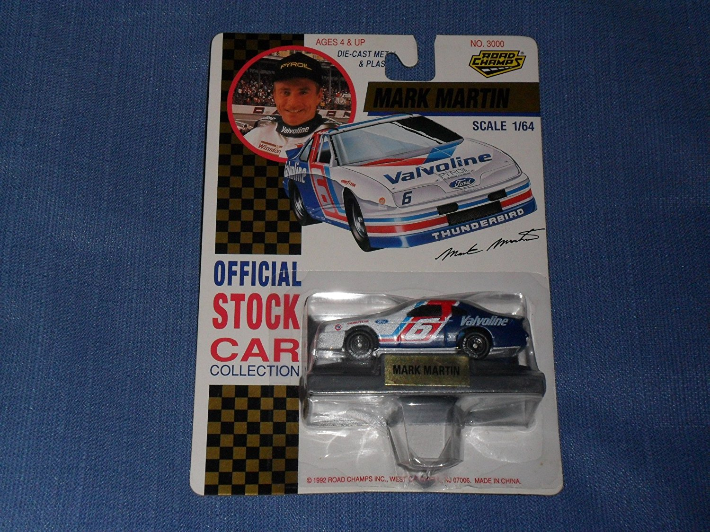 1992 Road Champs . . . Mark Martin #6 Valvoline Ford Thunderbird 1 64 Diecast . . .... by