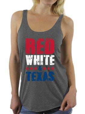 4dc5f03f57aab Product Image Awkward Styles Red White   Texas Racerback Tank Top for Women  Texas Tanks 4th of July
